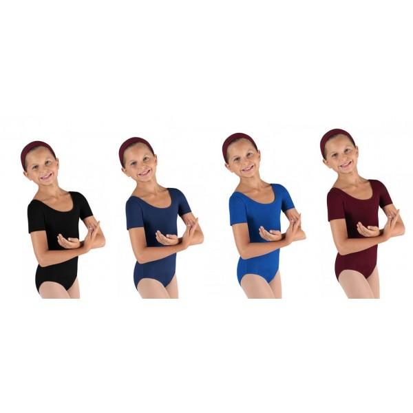 Bloch Ballet, dres s krátkým rukávem