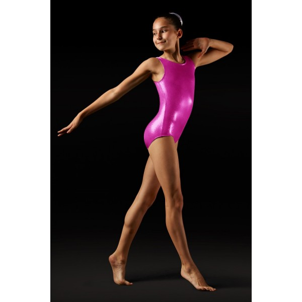 Bloch Leos Foil Tank, dětský gymnastický dres