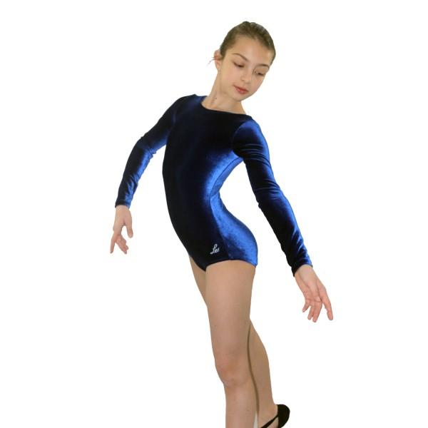 Bloch Leo Velvet, dětský gymnastický dres