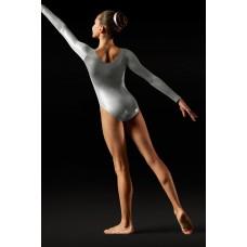 Bloch Foil, gymnastický dres s dlouhým rukávem pro děti