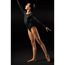 Bloch Foil, gymnastický dres s dlouhým rukávem pro dámy