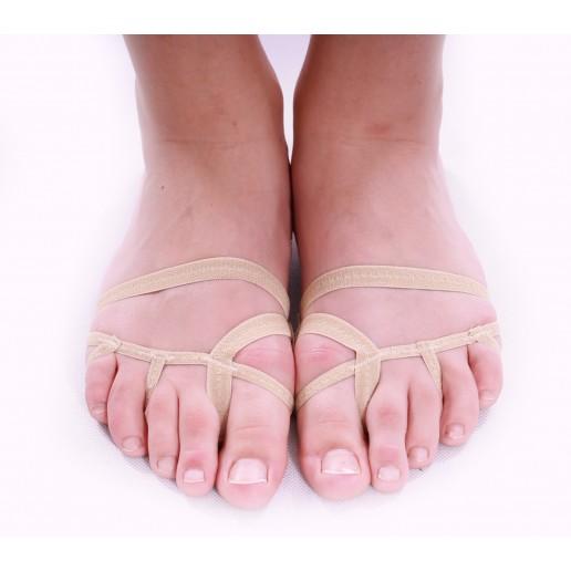 <span style='color: red;'>Prodej skončil</span> Bloch Foot thong S0602L - obuv na současný tanec pro děti