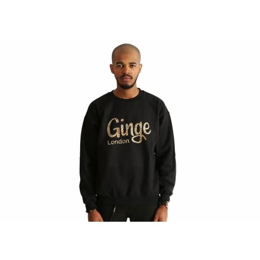 Ginge London Leopard Print Sweatshirt, mikina