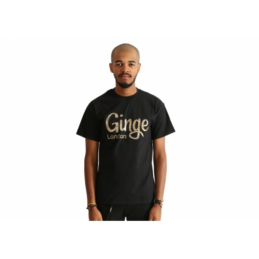 <span style='color: red;'>Prodej skončil</span> Ginge London Leopard Print T-shirt, tričko