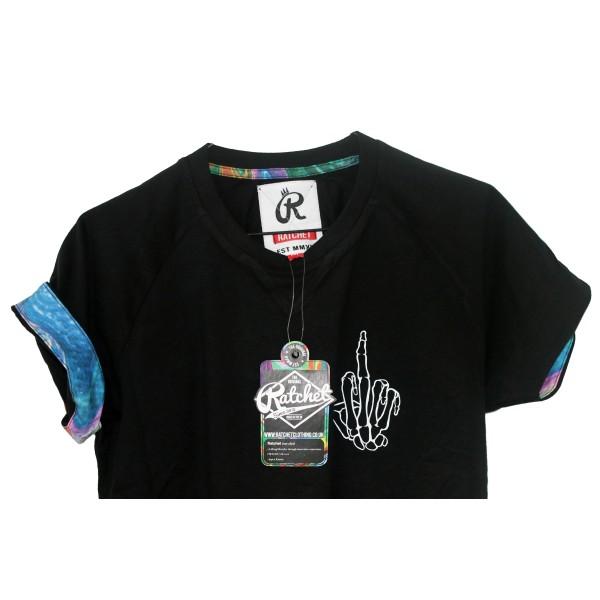 <span style='color: red;'>Prodej skončil</span> Ratchet Bone Finger T-Shirt SS17, tričko