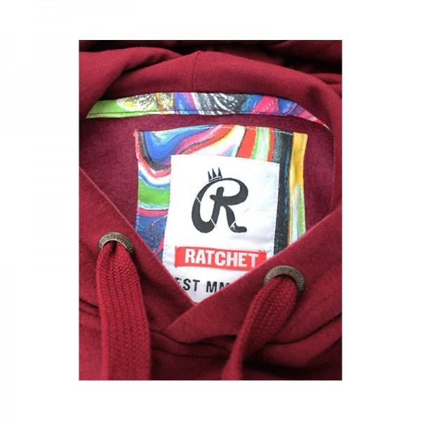 <span style='color: red;'>Prodej skončil</span> Ratchet White Diamond Hoodie, mikina