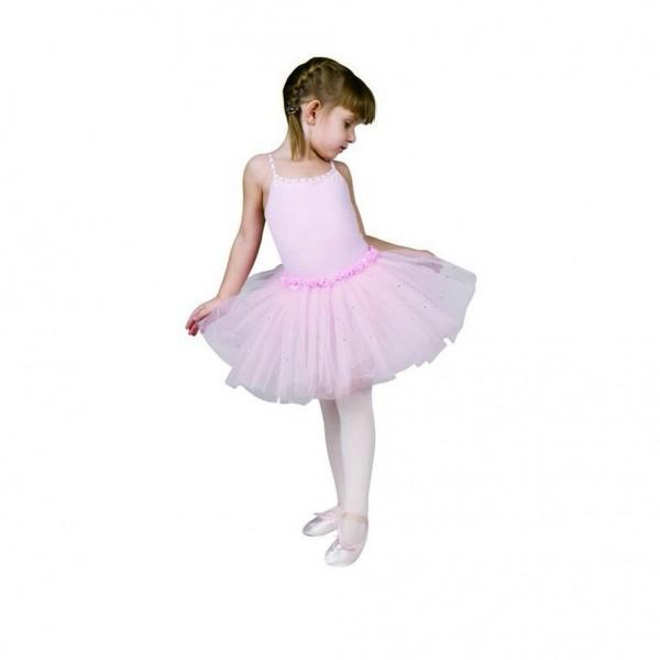 Sansha Fawn Y1705C, děstký baletní dres se sukničkou