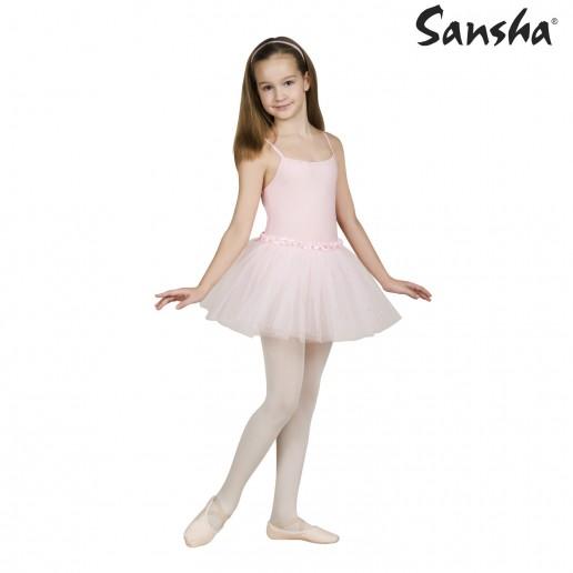 Sansha Faye Y1706C, dětský dres se sukničkou