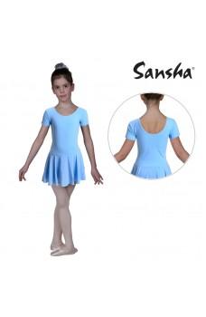 Sansha Samantha Y3554C, baletní dres se sukní