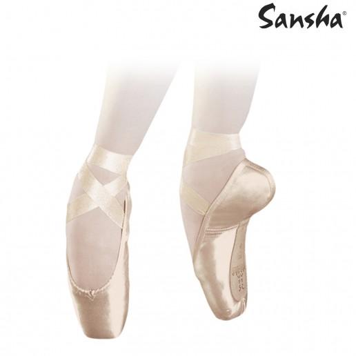 <span style='color: red;'>Prodej skončil</span> Sansha Versailles 801S, baletní špice