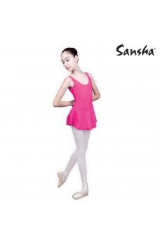 Sansha Fiona E516M, dětský baletní dres se sukničkou