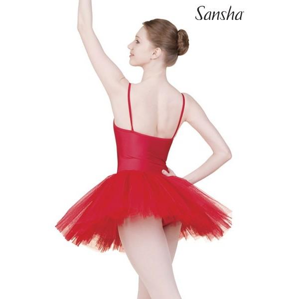 Sansha Dunya TF103C, baletní šaty s tutu sukní