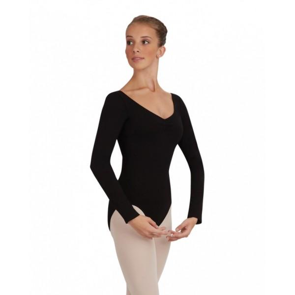Capezio baletní dres s dlouhým rukávem