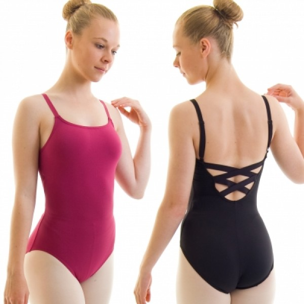 Capezio BD101, baletní dres W/X cross straps