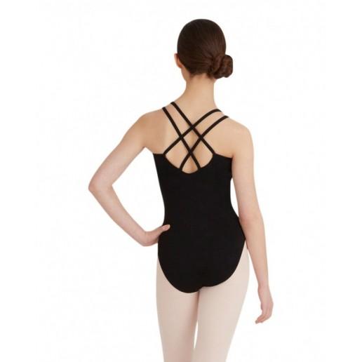 Capezio Double Strap Camisole Leotard CC123, baletní dres