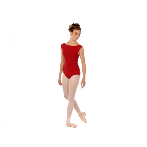 Capezio  CC220B, baletní dres s lodičkovým výstřihem