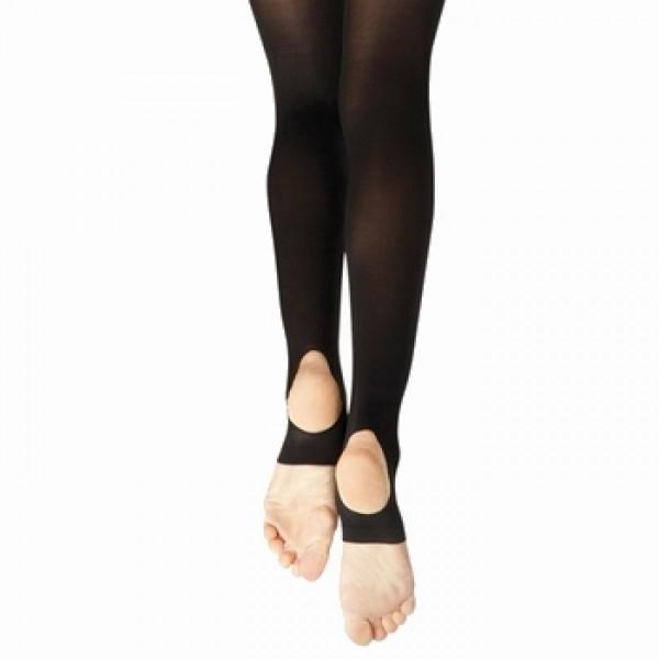 Capezio Hold Strech Stirrup, baletní punčocháče pro dospělé