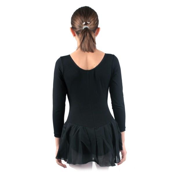Capezio dres s dlouhým rukávem a se sukní
