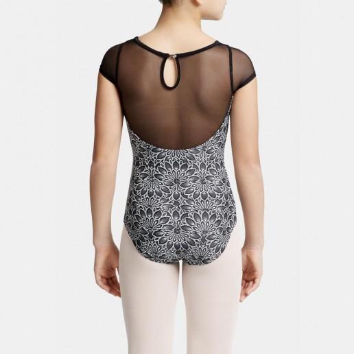 Capezio Poetry cap sleeve, baletních dres pro děti