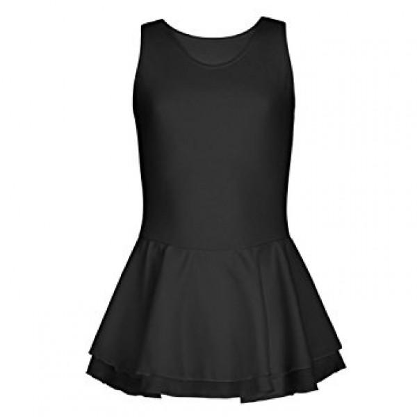 Capezio baletní dres s dvojitou sukní