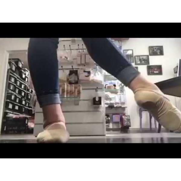 Capezio HANAMI 2037W, pánské baletní cvičky