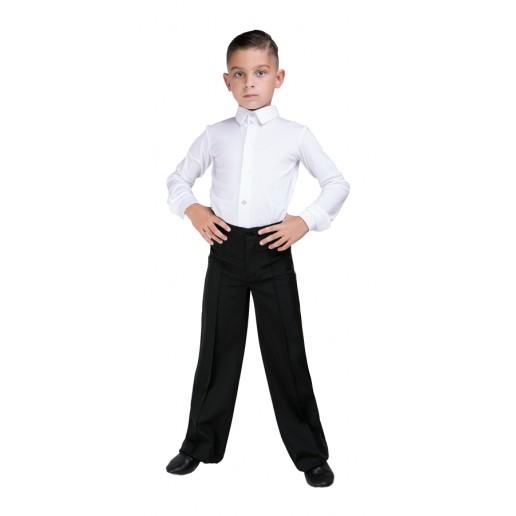 Chlapecké společenské kalhoty Basic