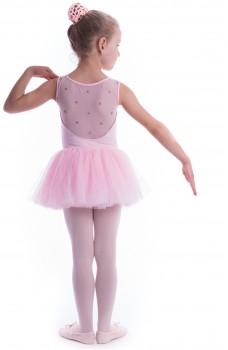Bloch Coralina, dětský trikot s tutu sukýnkou
