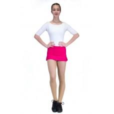 Capezio Team basic skirt, sukně s krátkými kalhotami