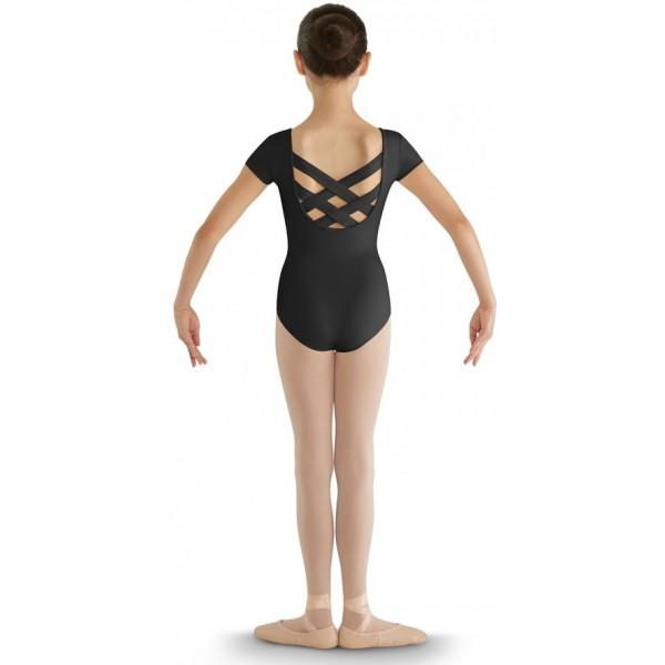 Bloch strap back cap sleeve Leotard, dětský baletní dres