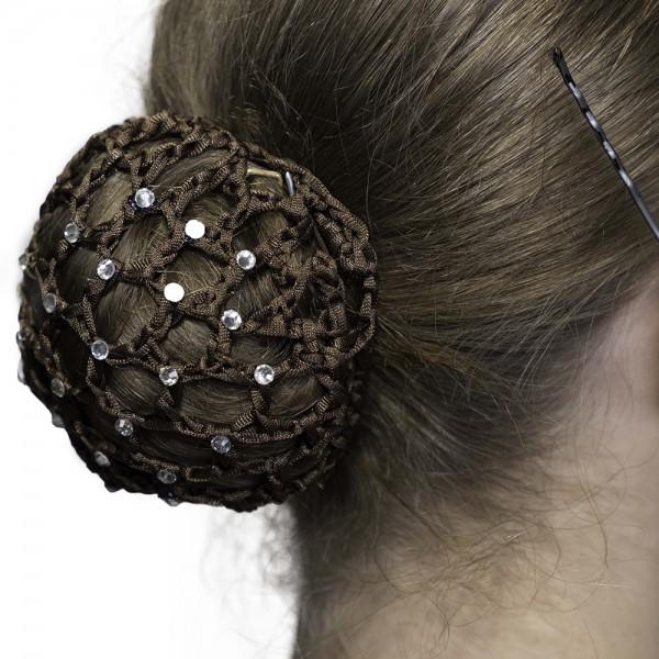 Dansez Vous bun cover, gumička do vlasů s křišťálem