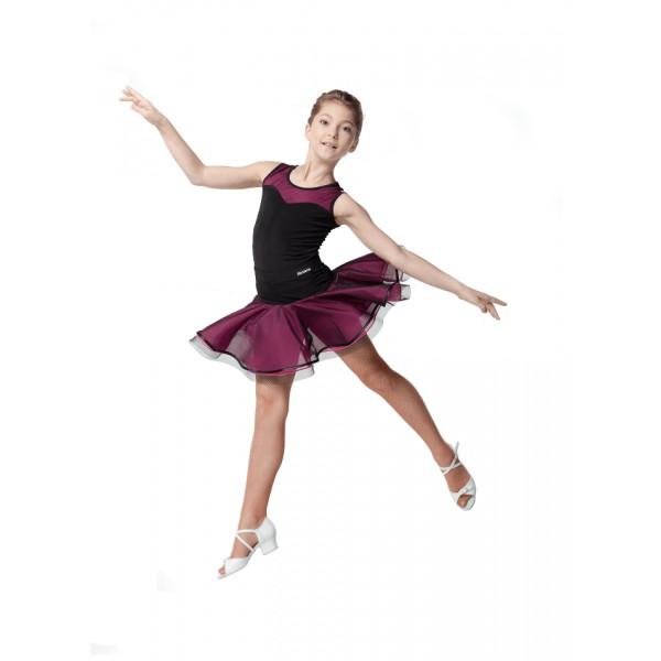 Dívčí tréninková sukně s lemem