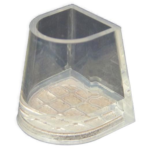 Middle Flare Leather, ochrana podpatků, kůže