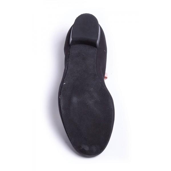 """Capezio Academy character w /1"""" heel, plátěné charakterové boty pro děti"""