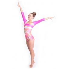 Capezio Gymnastics Arch Back, gymnastický dres pro ženy