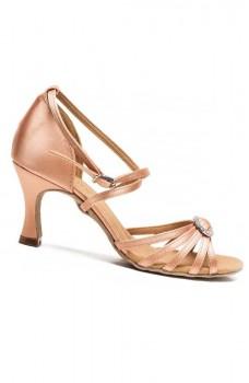 Sansha Barbara BR31038S, boty na latinskoamerický tanec