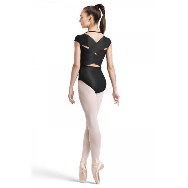 <span style='color: red;'>Prodej skončil</span> Bloch Daan květy, oboustranný baletní dres