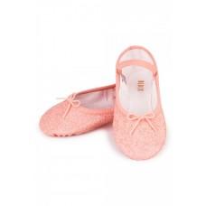 Bloch Sparkle, třpytivé baletní cvičky pro děti