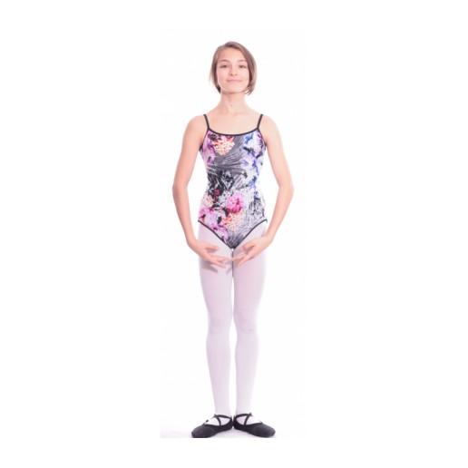 <span style='color: red;'>Prodej skončil</span> Bloch Sabella květy, oboustranný baletní dres