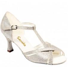 Sansha Tina BR30008GL, boty na na společenský tanec