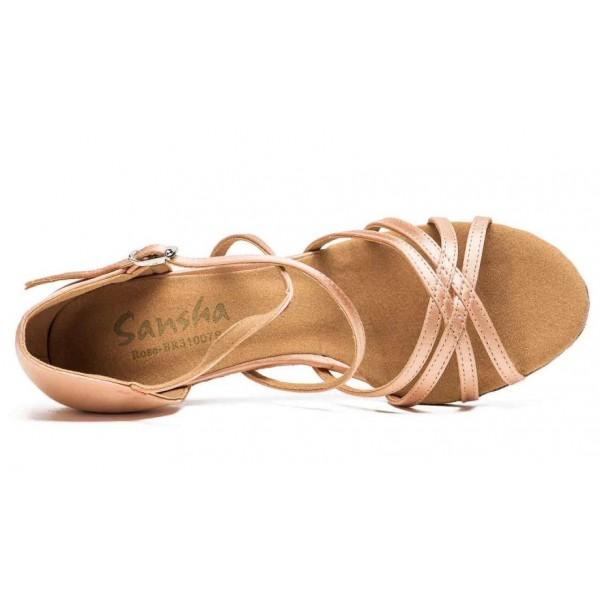 Sansha Rosa BR31007S, boty na společenský tanec