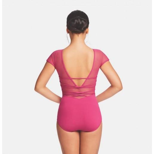 <span style='color: red;'>Prodej skončil</span> Capezio Strappy back Cap Sleeve Leotard, baletní dres