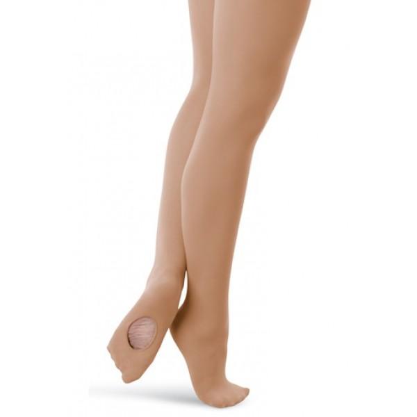 Capezio ultra soft transition tights, konvertibilní punčocháče pro děti