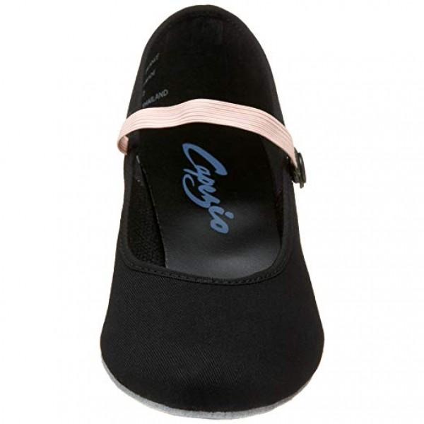 Capezio Academy character, plátěné charakterové boty pro děti