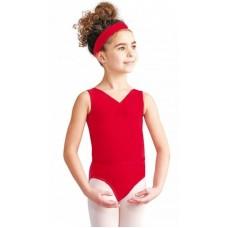 Capezio  CAD201C, baletní dres na široká ramínka