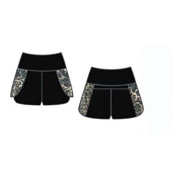 Capezio Damask Shorts, dívčí šortky