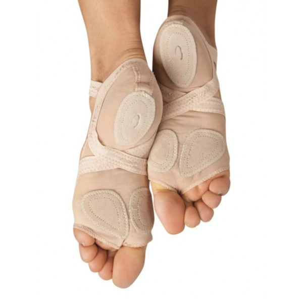 Capezio Full Body footUndeez Foot Thongs, ťapky s patou
