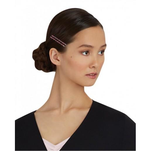 Capezio glitter glam bobby pins, barevné třpytivé sponky do vlasů