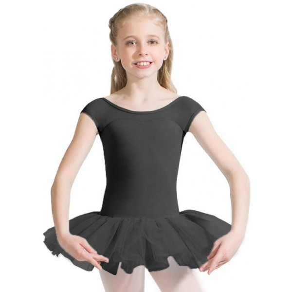 Capezio Keyhole Back Tutu Dress, dětský dres s tutu sukénkou