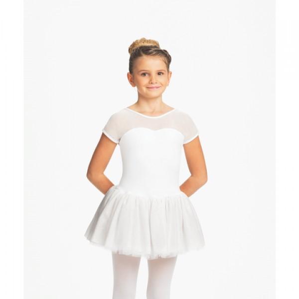 Capezio Keyhole Back Tutu Dress, dětský dres s tutu sukýnkou