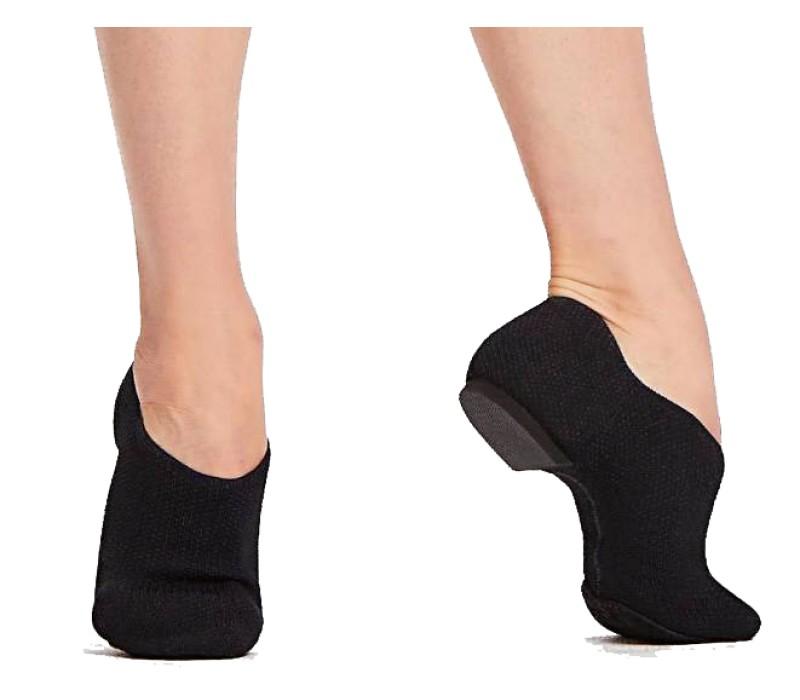 Capezio Pure Knit Jazz Shoe, taneční obuv - Černá